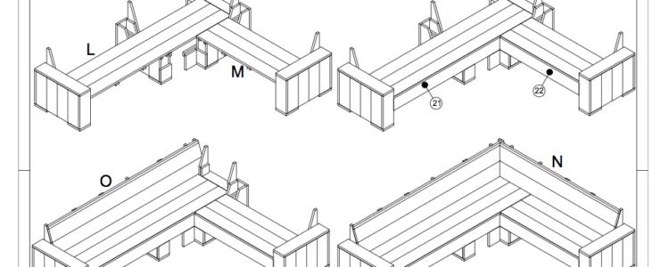 Loungeset tekening archieven doe het zelver alles over for Bouwtekening hoekbank