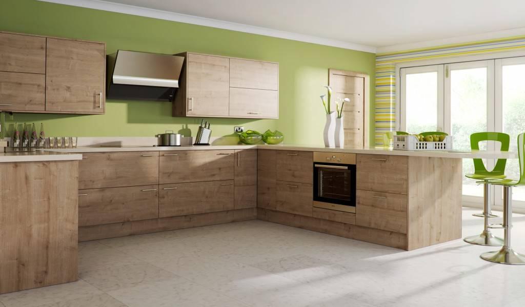 Zelf een houten keuken maken met een bouwtekening? Dat is