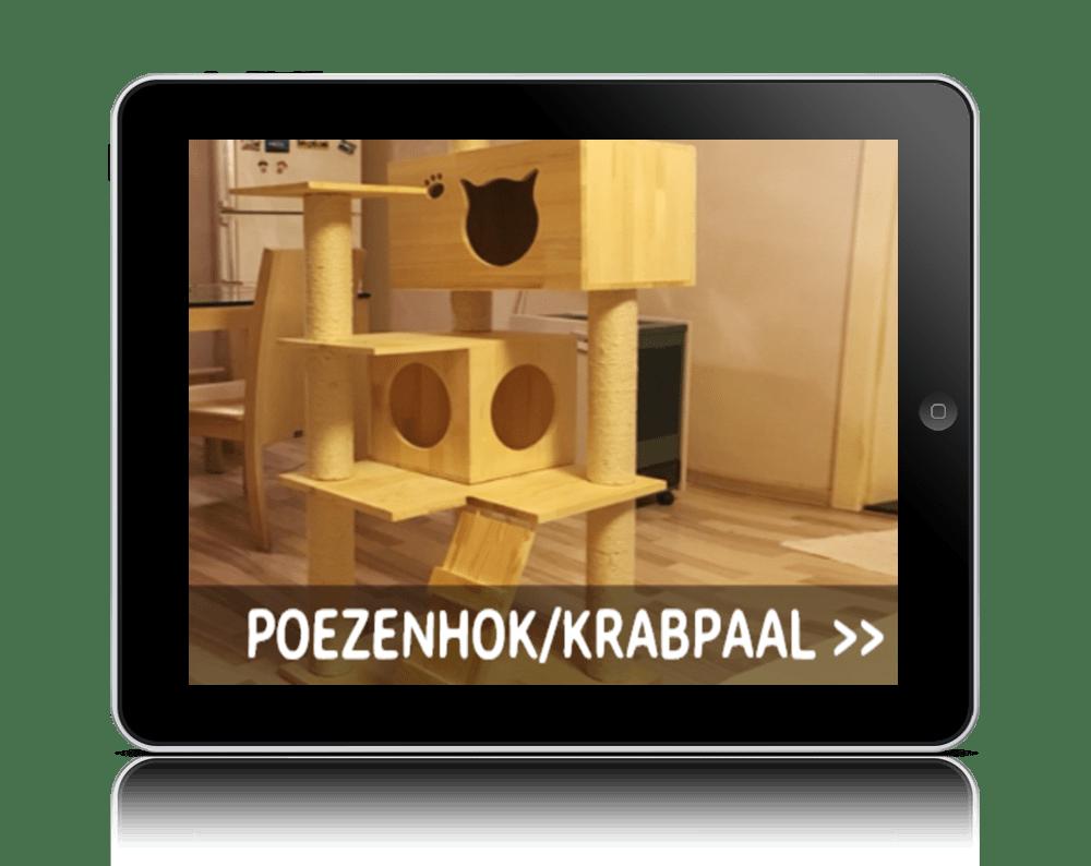 Zelf een kattenhuis maken met een bouwtekening