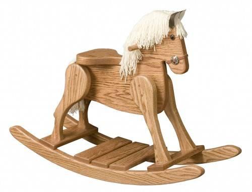 houten schommelpaard