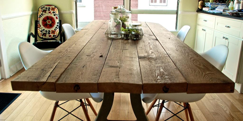 Houten tafel maken gewoon zelf doen doe het zelver for Zelf tafel maken hout