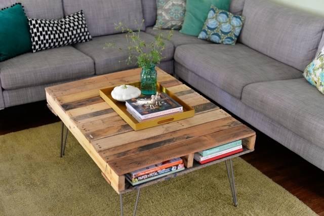 Zelf meubels maken van pallets