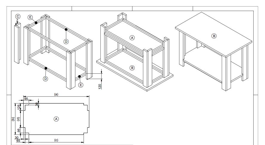 houten werkbank zelf maken