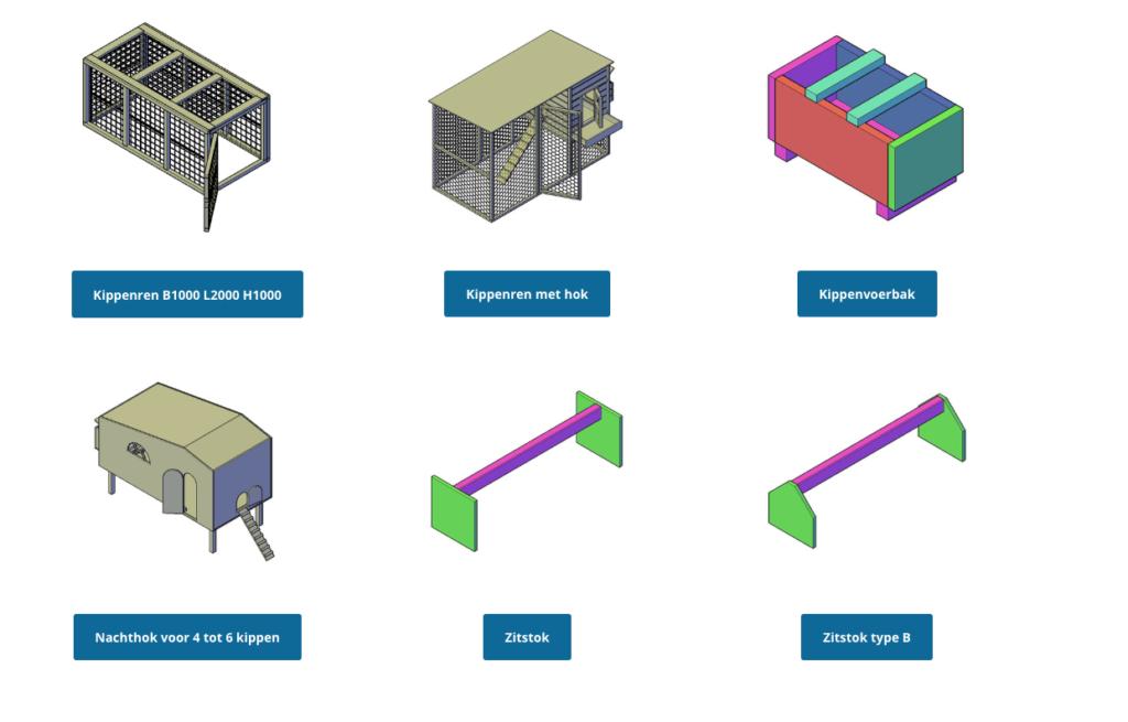 bouwtekening kippenhok pdf