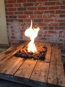 een vuurtafel maken met een ideale bouwtekening