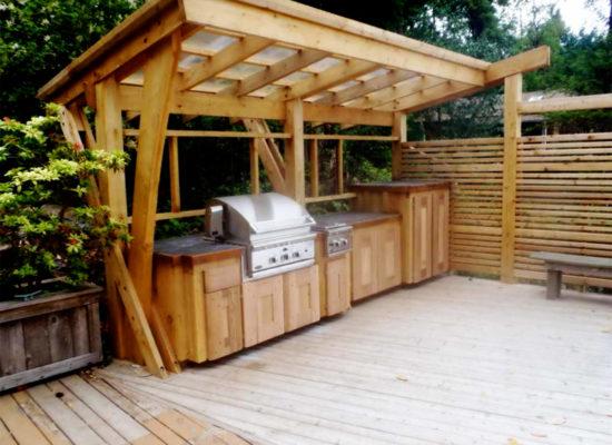 Buitenkeuken maken met behulp van een bouwplan