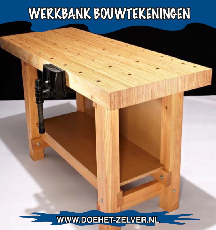 Zelf een werkbank maken van hout dit kan je heel simpel for Zelf meubels maken van hout