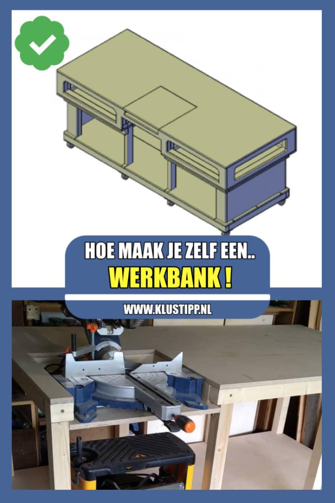 houten werkbank bouwen met een stappenplan