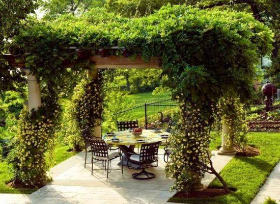 Holz Pergola Fr Den Garten 25 Interessante Design Ideen - Beste garten ideen