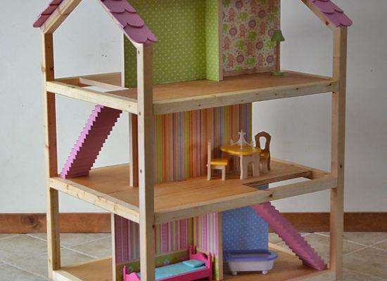 poppenhuis zelf maken