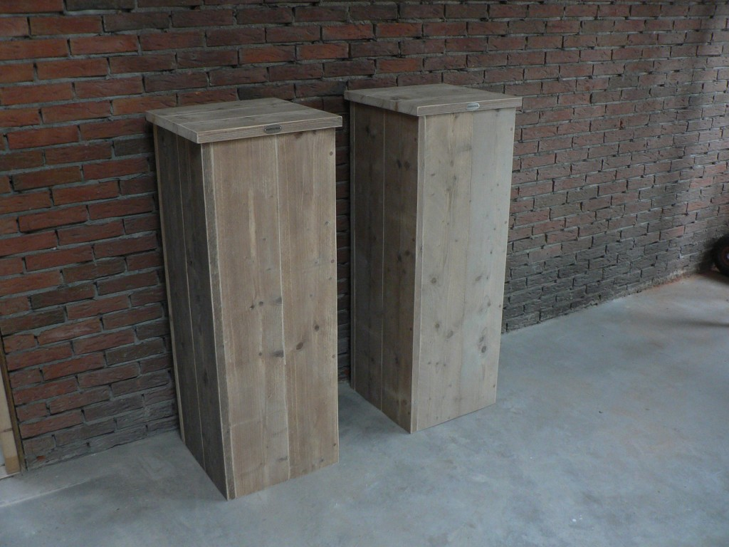 Bekend Zelf een zuil maken van steigerhout? Leuk doe het zelf idee! Lees  AV91