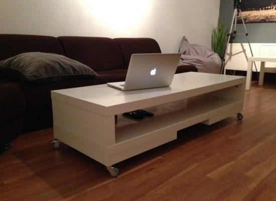 Maak je eigen salontafel zelf van hout