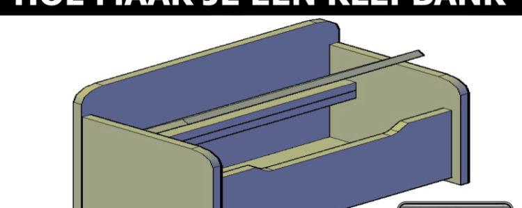 houten klepbank bouwtekening downloaden