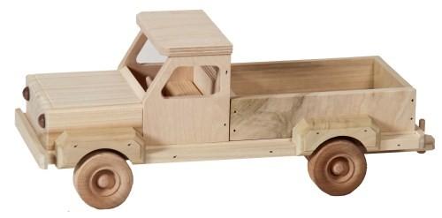 Zelf houten speelgoed bouwen met een bouwtekening