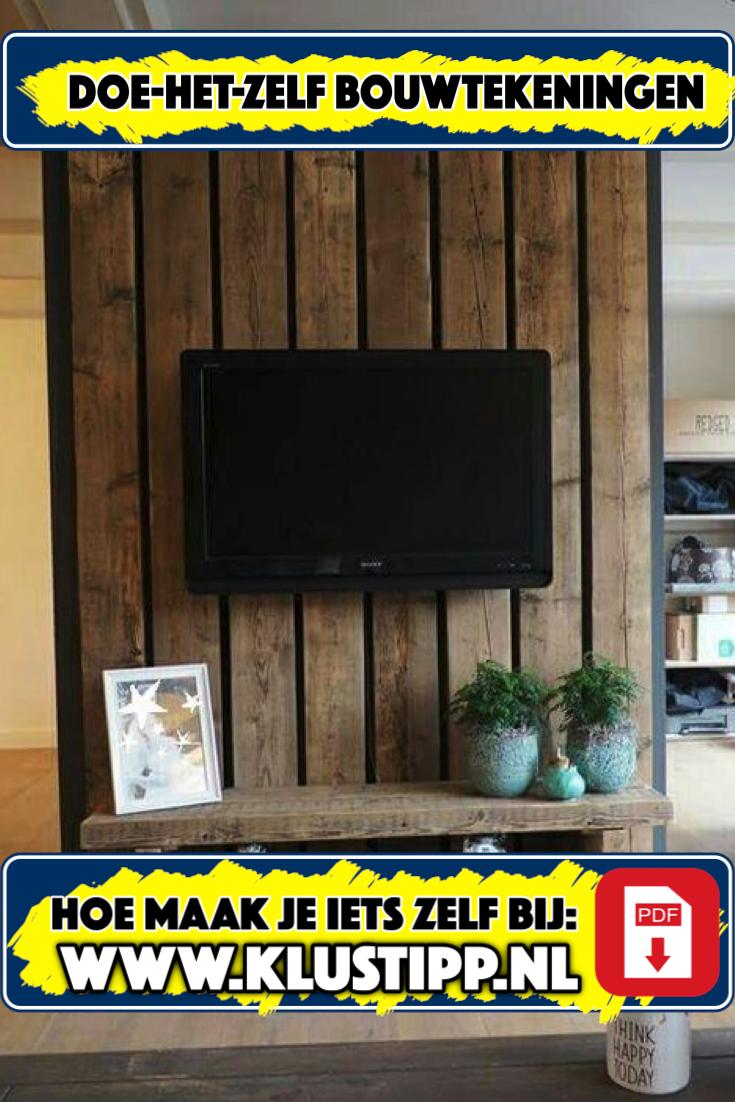 Tv Meubel Maken Van Steigerhout Doe Het Zelf Lees Meer