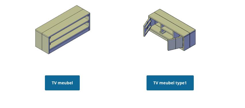 Wil je zelf een steigerhouten kast maken voor jouw tv?