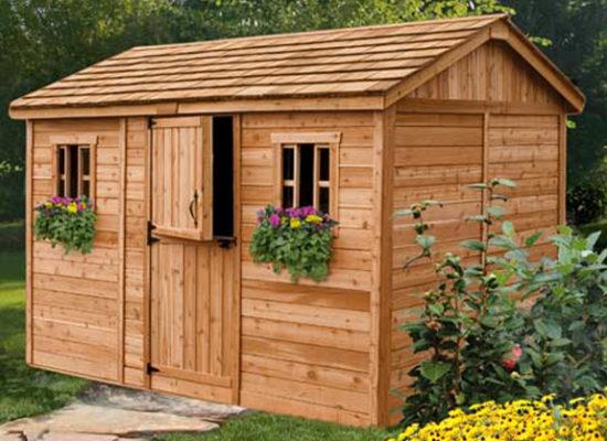 Tuinhuis maken met een goede bouwtekening