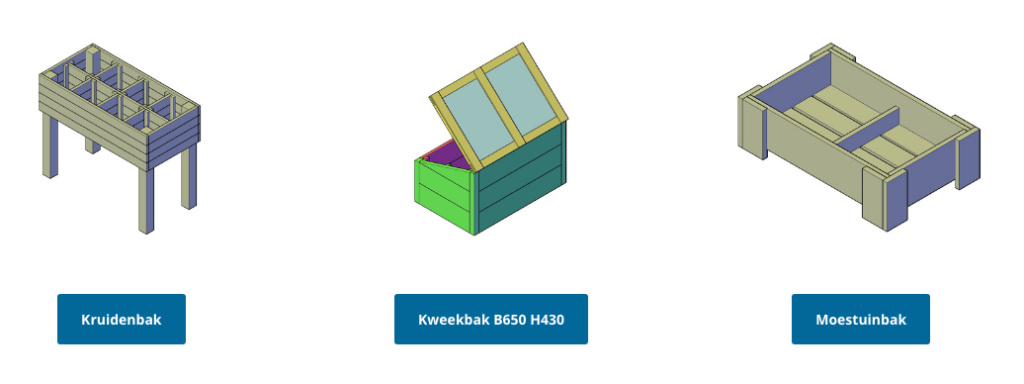 kweekbak maken met een bouwplan